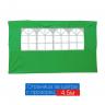 Страница за шатра 4.5м с прозорец зелена