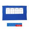 Страница за шатра 4.5м с прозорец синя