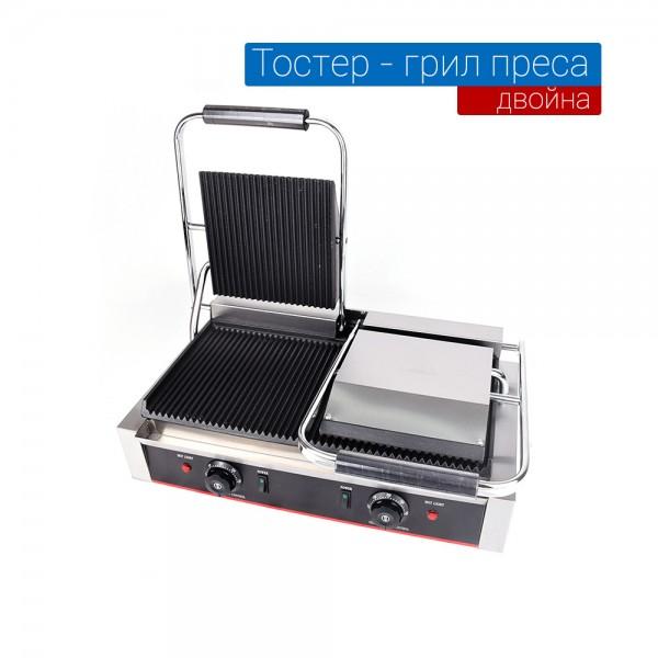 Тостер  - професионален двоен електрически