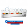 Хладилна витрина 1600х380х435мм - студен салатен бар за 7х1/3 GN