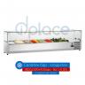 Хладилна витрина 1800х330х435мм - студен салатен бар за 8х1/4 GN