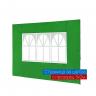 Страница за шатра - зелена, с прозорец
